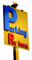 Hourparking Sign